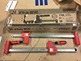 BESSEY KRE3524 PAIR 24' K Body REVO Parallel Bar Clamp Now With Hex Key Clamping