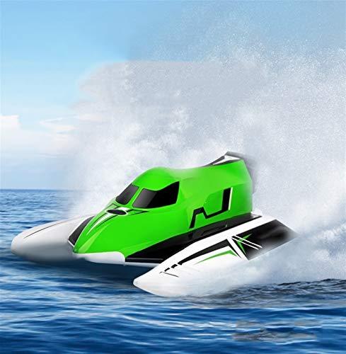 CLNAONG Barco de Control Remoto, 2020 Nueva 2.4G del Motor del Cepillo...