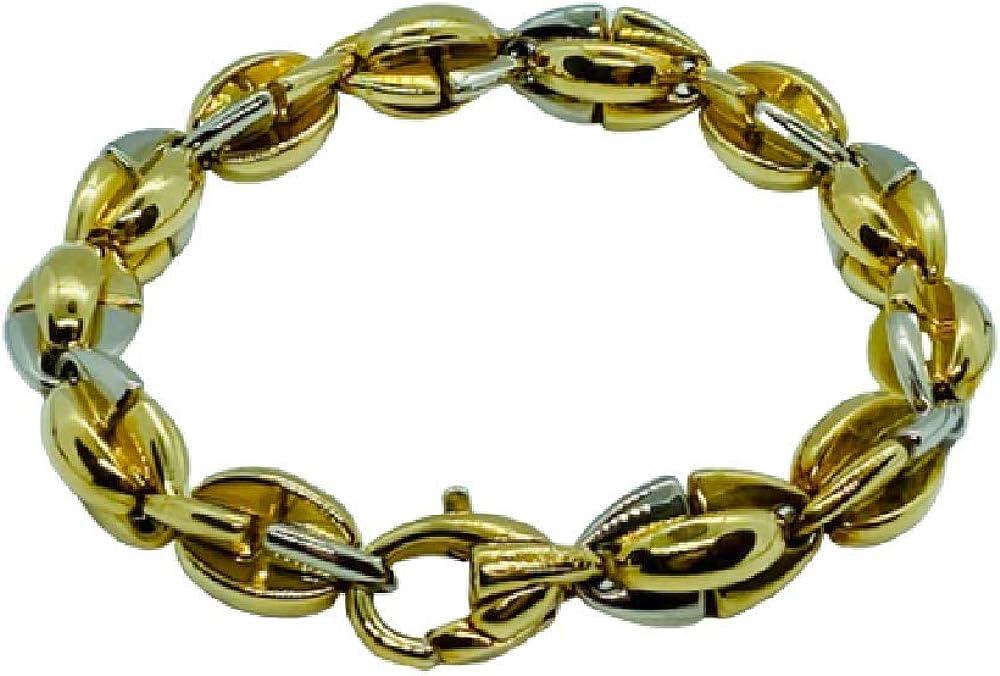 Chimento,bracciale per donna in oro giallo e bianco 18 kt(27,1 gr) 1B00377ZZ2210