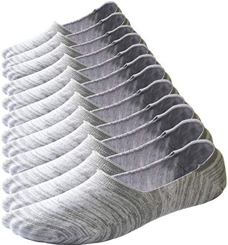 Sakya No Show Low Cut Socks Mens Cotton Loafer Socks Flat Boat Liner Non Slip product image