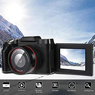 Leoie Digital Full HD1080P 16x Digital Camera Professional Video Camcorder Vlogging Camera