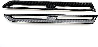 Eppar New Carbon Fiber Fender Scoops Hood Scoops 2PCS for Nissan GTR R35 GT-R 2008-2016 (Fender Scoops 2PCS)