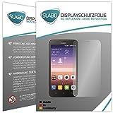 Slabo 4 x Bildschirmschutzfolie für Huawei Y625 Bildschirmfolie Schutzfolie Folie Zubehör No Reflexion MATT