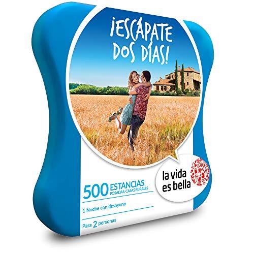 Smartbox LA Vida ES Bell - Caja Regalo -¡ESCÁPATE Dos DÍAS! - 500 hoteles, posadas, Casas Rurales y Mucho más