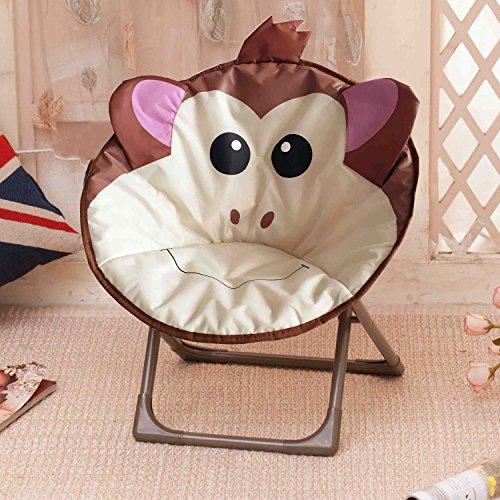 Klappstühle Kinder Kleiner Mond Stuhl Sonnenstuhl Schmetterling Stuhl fauler Stuhl Radar Stuhl Recliner runder Stuhl Sofa Stuhl Liegestuhl (Farbe : 3)