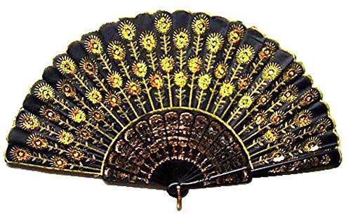 sequin hand fans bulk - 4