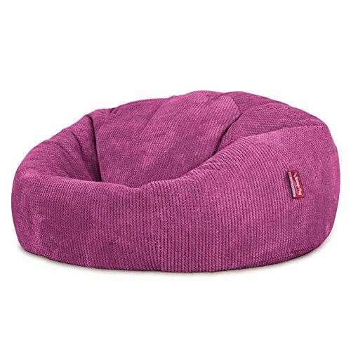 Lounge Pug®, Sitzsack Sofa, Relaxsessel, Pom-Pom Pink