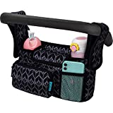 Baby Stroller Organizer, Universal Stroller Bag with Insulated Cup Holder