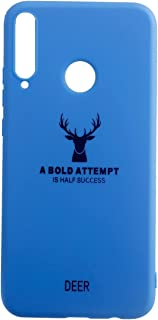 Back Cover For Huawei Y7P - Light Blue