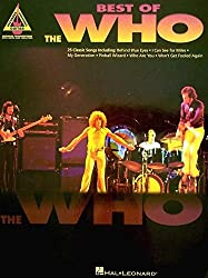 The Who Best Of Guitar Tab.