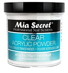 Mia Secret Professional Acrylic Nail System Clear Acrylic Powder