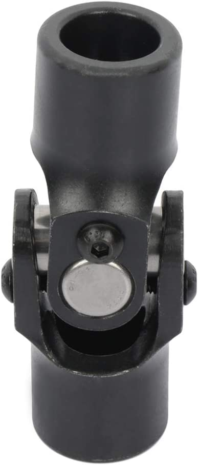 ECCPP Black Single Steering Joints 3 Smooth OFFicial site Roun Round x 4