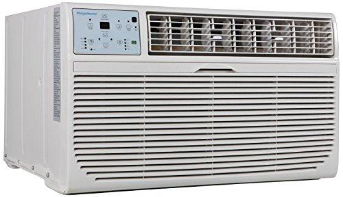 Keystone KSTAT10-1C 10000 BTU 115V Follow Me LCD Remote Control Through-The-Wall Air Conditioner, 10,000