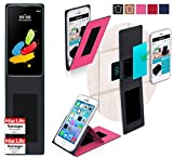 reboon Hülle für LG Stylus 2 (DAB+) Tasche Cover Case Bumper | Pink | Testsieger