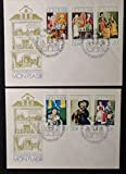 Germany East DDR 1974 FDC castle museum arnstadt dolls village good used first day cover JandRStamps 144629