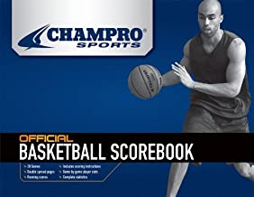 Champro Basketball Score Book (White)