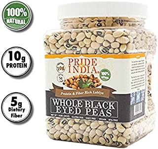 Pride Of India – Indian Whole Black Eyed Peas – Protein & Fiber Rich..