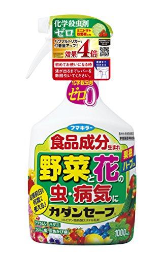フマキラー カダンセーフ 1000ml 殺虫 殺菌