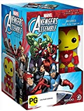 Avengers Assemble Season 1 plus Iron Man Figurine NON-USA FORMAT, PAL, Reg.0 Australia