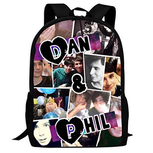 Design Kids Schoolbags Food Fails_Dan_And_Phil Backpack For School Girls Boys Daypacks Rucksack Zipper