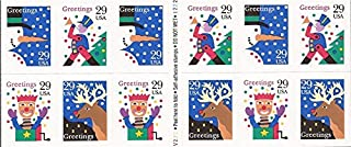 1993 CHRISTMAS CONTEMPORARY #2802a Booklet of 12 x 29 cents US Postage Stamps