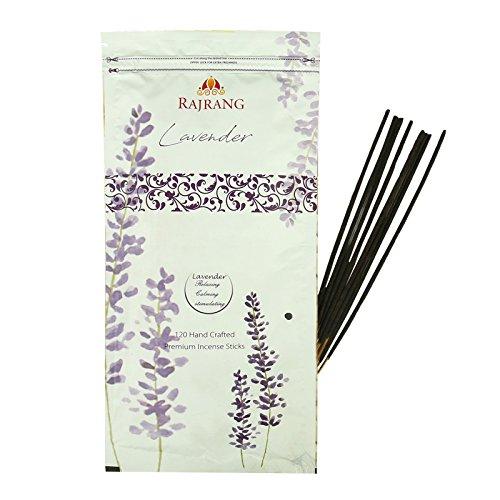 RAJRANG BRINGING RAJASTHAN TO YOU Incienso Lavanda Ambientador Aroma - Sereno y Fascinante Natural...