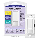 Lutron MS-OPS5M-WH Maestro Sensor switch, 5A, No Neutral Required, Single-Pole or Multi-Location MS-OPS5MH-WH, White