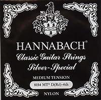 HANNABACH シルバースペシャル E8154MT Black D 4弦