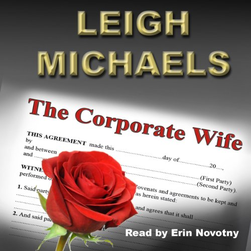 The Corporate Wife audiobook cover art