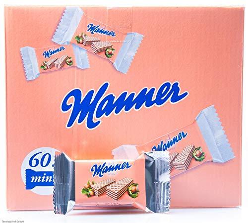 Manner Mini Neapolitaner 900g XL Pack (60 x 2 Einzelstück)