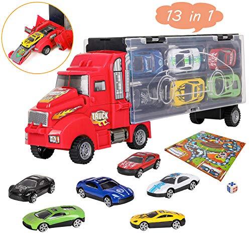 bhdlovely Camión Transportador Maletín...