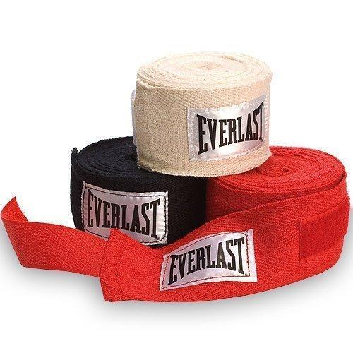 Everlast Bandas para guantes de boxeo y deportes de contacto (3 pares, 274,3cm)