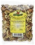HOWA Nusskern-Knabber-Mix, Nussmischung ohne Salz, 500 g