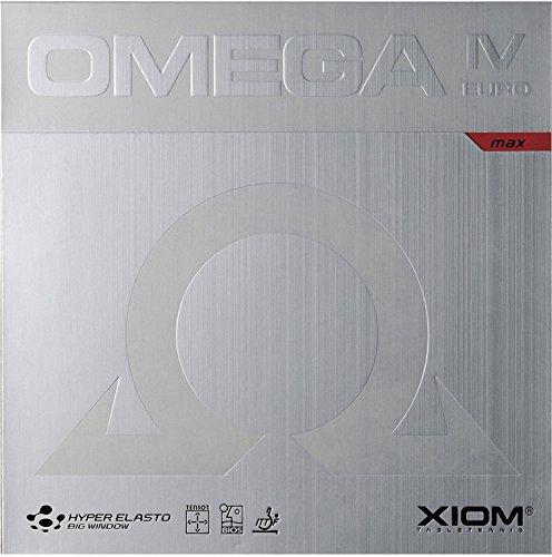 Tenis de Mesa de combinado XIOM Omega IV Europe, Nuevo, 2.0(Rojo)