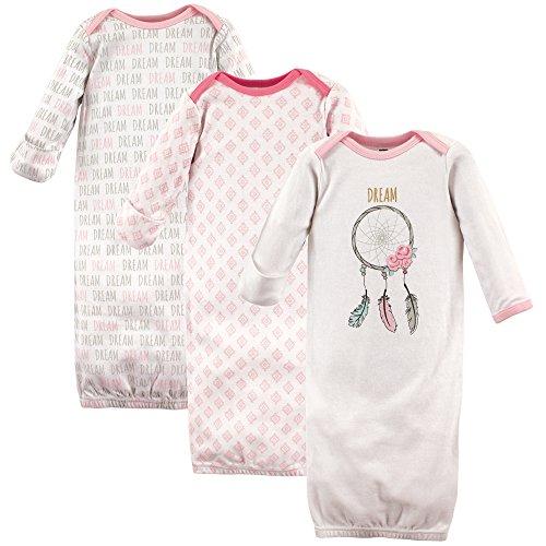Hudson Baby Baby Cotton Gowns, Dream Catcher, 0-6 Months