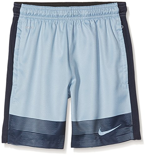 Nike Kinder Strike GPX Printed Woven 2 Short, hellblau/blau, L-147-158 cm