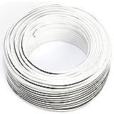 Seki - Cable para Altavoces (2 x 0,75 mm²) 0,75mm2-50m...