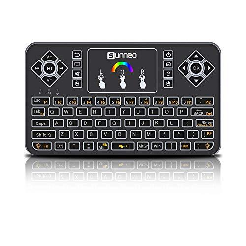 blackgik Q9 Mini Teclado Inalámbrico de Control Remoto con