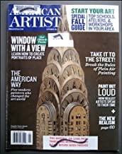 American Artist Magazine September 2011 Plein Air Painting, Creating Portraits of Place, New Realism