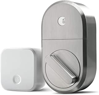August Home Smart Lock + Connect, Satin Nickel