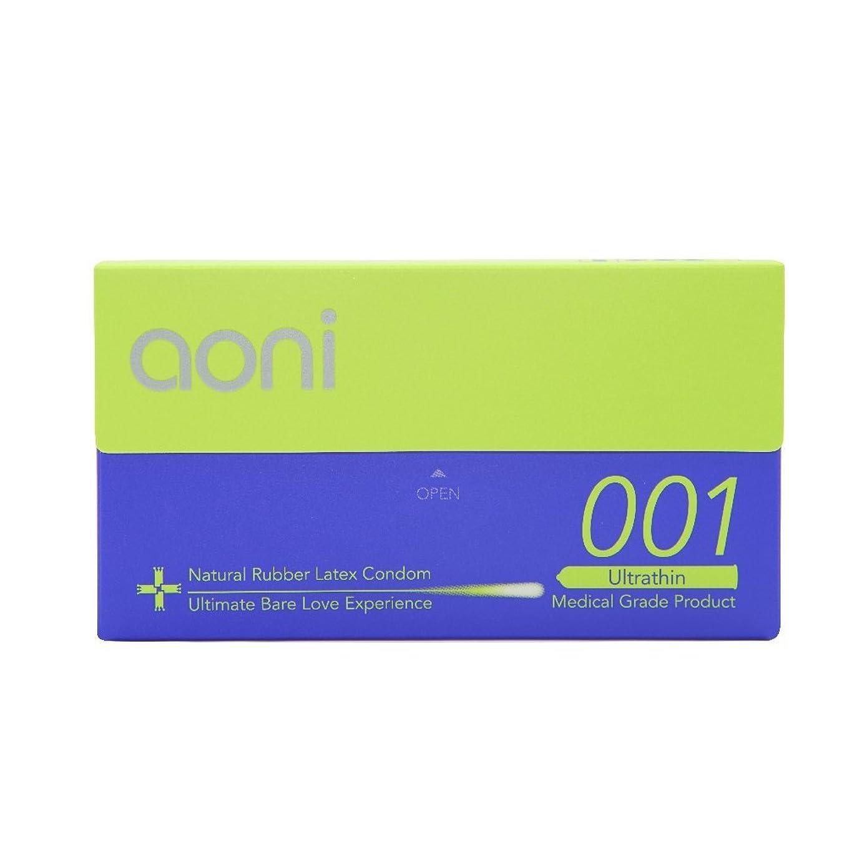 Aoni Condoms - Ultrathin 001 12 PCS - Achieved World's Thinnest* Latex Condom - Premium 001 Series - Water Based Lubricant?