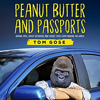 Peanut Butter and Passports audiobook cover art