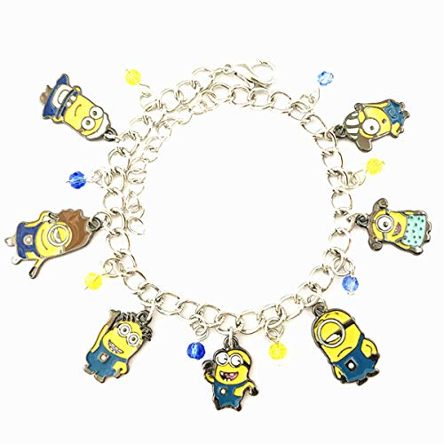 Universe of Fandoms Anime cartoon minion Bracelet Gifts for Women girl