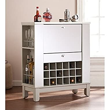 Mirage Mirrored Fold-Out Wine Cabinet