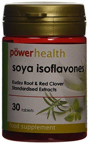 Power Gesundheit Soja Isoflavonen Kudzu Wurzel und Rotklee 30 Kapseln