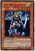 Yu-Gi-Oh! - D.D. Warrior Lady (GLD1-EN015) - Gold Series 1 - Limited Edition - Gold Rare