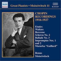 Chopin Recordings 1916
