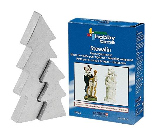 Kit completo set–Stampo per albero di Natale piccolo 10x 21cm con stewalin 1000G