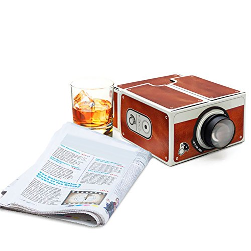 Docooler Mini Smart Phone Projector Cinema Portable Home Use DIY Cardboard Projector Family Entertainment Projective Device
