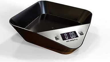DYHOZZ Digital Kitchen Electronic Scales, Pet Scales, Pets, 5kg Bowls, Kitchen Scales, Kitchen Scales, Food Scales, Baking Scales for Families, Kitchens (Color : Black)